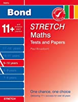 Bond Stretch Maths Tests and Papers, 9-10 Years