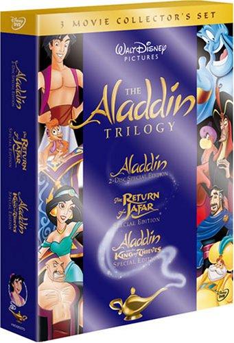アラジン 3部作 完全BOX (初回限定) [DVD]の詳細を見る