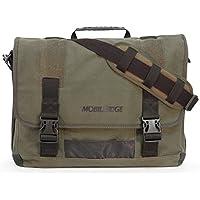 (Green) - 44cm Eco-Friendly Canvas Messenger Bag (Green)