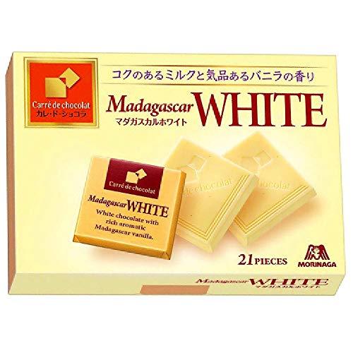 森永製菓 カレ・ド・ショコラ<マダガスカルホワイト> 21枚×6個