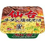 ニュータッチ 仙台牛タン風味塩焼そば 124g ×12食