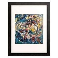 ワシリー・カンディンスキー Wassily Kandinsky Vassily Kandinsky 「The Red Square, Moscow (Moscow I.). 1916」 額装アート作品