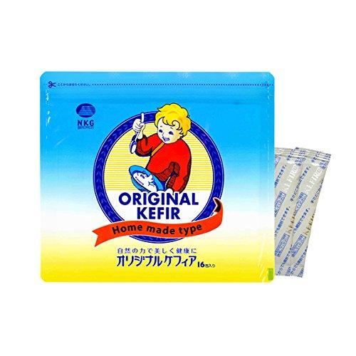 オリジナルケフィア1袋(16包)手作りケフィアヨーグルトの種...