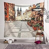 壁掛け曼荼羅ヒッピー自由奔放に生きる壁タペストリーノルディックタウン寝室飾る毛布/ビーチタオル/タペストリー/ヨガマット/瞑想毛布 (Color : B, Size : 150x130cm)
