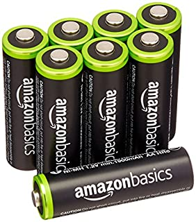 Amazonベーシック 充電式ニッケル水素電池 単3形8個パック (最小容量1900mAh、約1000回使用可能) (B00CWNMV4G) | Amazon price tracker / tracking, Amazon price history charts, Amazon price watches, Amazon price drop alerts