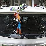 トイストーリー Toy Story ウッディー& バズ Woody&Buzz フィギュア 人形 ステッカー 車 カー アクセサリー ぬいぐるみ 30cm■C106■M0028