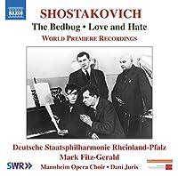 ショスタコーヴィチ:劇音楽『南京虫』/映画音楽『愛と憎しみ』