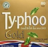 Typhoo Gold Premium Tea Bags 80ct by Typhoo