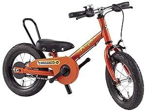 People(ピープル) ラクショーライダー 12インチ マリーゴールド 補助輪パスして自転車イチバン乗り! YGA293