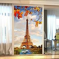 Xueshao パリ鉄塔ポー壁紙レストランリビングルームエントランス背景壁の装飾壁画絵画3D-120X100Cm