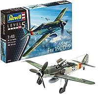 ドイツレベル 1/48 ドイツ空軍 フォッケウルフ Fw190D-9 プラモデル 03930