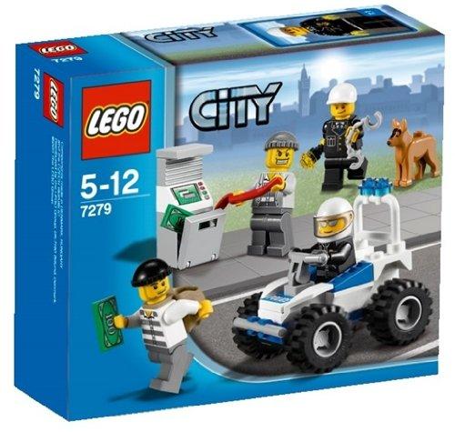 レゴ (LEGO) シティ ポリス4WDバギー 7279