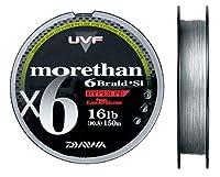 ダイワ(Daiwa) PEライン シーバス モアザン UVF 6ブレイド+Si 150m 0.4号 9lb カーボングレー