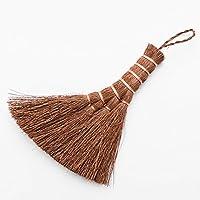 鬼毛棕櫚 4玉 荒神箒 ミニ 箒 ほうき 棕櫚 鬼毛 1本 毛 玉 掃除 年末 大掃除 室内