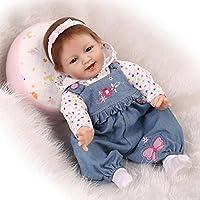 NPK VeryソフトビニールReal Life Like Rebornベビー人形シリコン新生児人形22インチ子供ギフトハンドメイド人形Lifelike人形人形スマートDolls