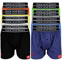 Frank and Beans Underwear Mens Boxer Shorts Mix 16 Pack