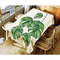 SLhouse ホームプラント印刷防水コーヒーテーブルクロスシンプルなテーブルクロス (Color : 11, Size : 140*140cm)