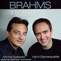 Brahms: 3 Sonatas for Clo & Pno