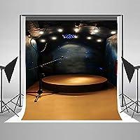 ステージ照明写真背景幕の写真Velvetyコットン生地Studio Props graffé 5x 7ft