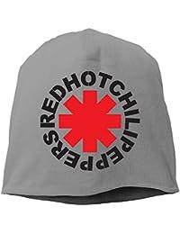 NINKI レッドホットチリペッパーズ アメリカ ロックバンド ロゴ 大人 ヘッジキャップ ニット帽子 ルームウェア かわいい グレー One Size