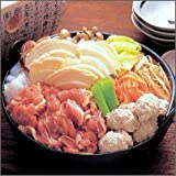 八戸せんべい汁/シャモロックせんべい汁鍋セットC(軍鶏鍋2?3人前)