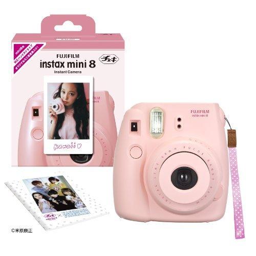 FUJIFILM インスタントカメラ チェキ instax mini 8 ピンク INS MINI 8 PINK N