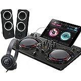 PIONEER DJスタートセット DDJ-WEGO4-K + Z200 + ATH-S100(DJコントローラー + スピーカー + ヘッドホン) (ブラック)