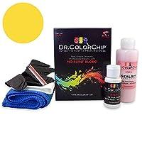 Dr。ColorChip Chevrolet Asuna Sprint Automobileペイント Road Rash Kit イエロー DRCC-208-6826-0002-RR