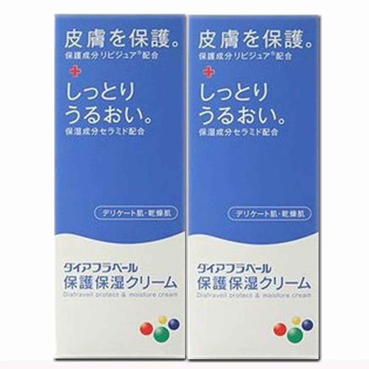 適度な誇り文句を言う【2個】ダイアフラベール 保護保湿クリーム 60gx2個 (4987360200539-2)