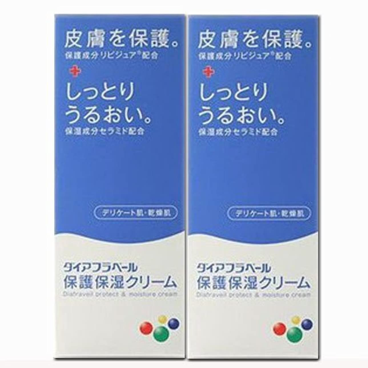 膨張する賞賛笑【2個】ダイアフラベール 保護保湿クリーム 60gx2個 (4987360200539-2)