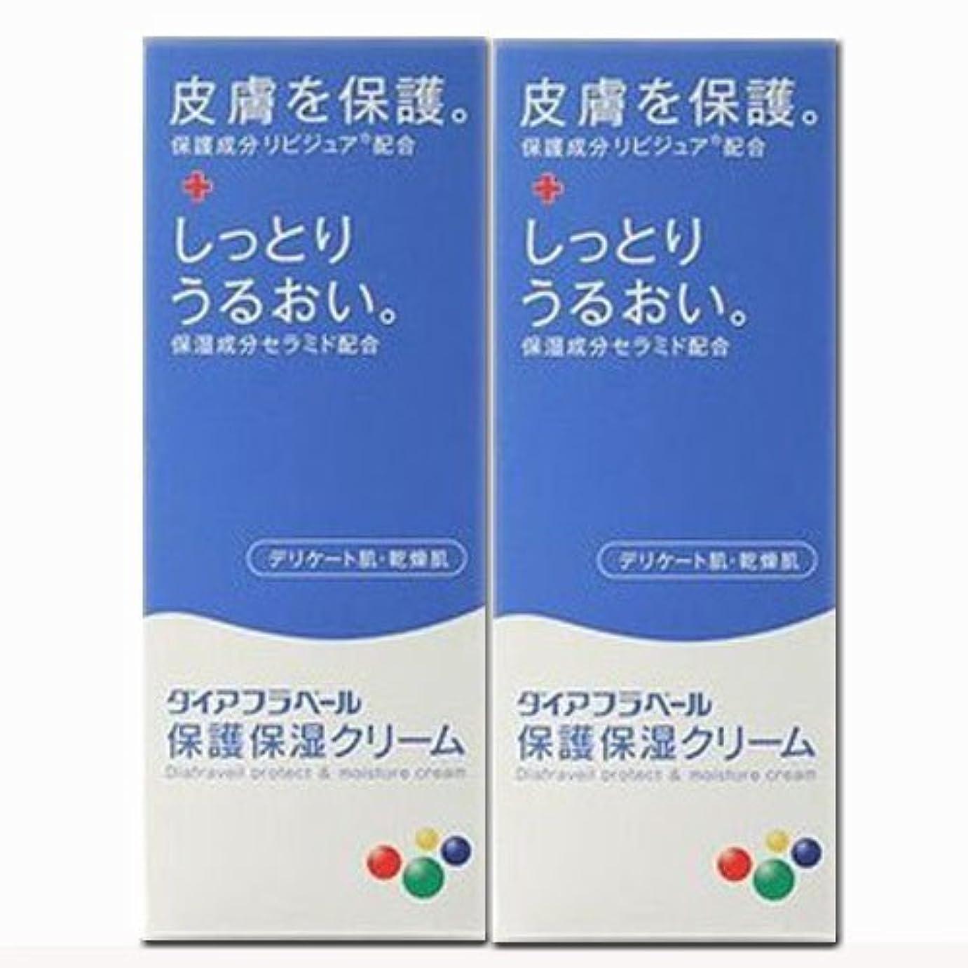 予定しかしながら瞑想的【2個】ダイアフラベール 保護保湿クリーム 60gx2個 (4987360200539-2)