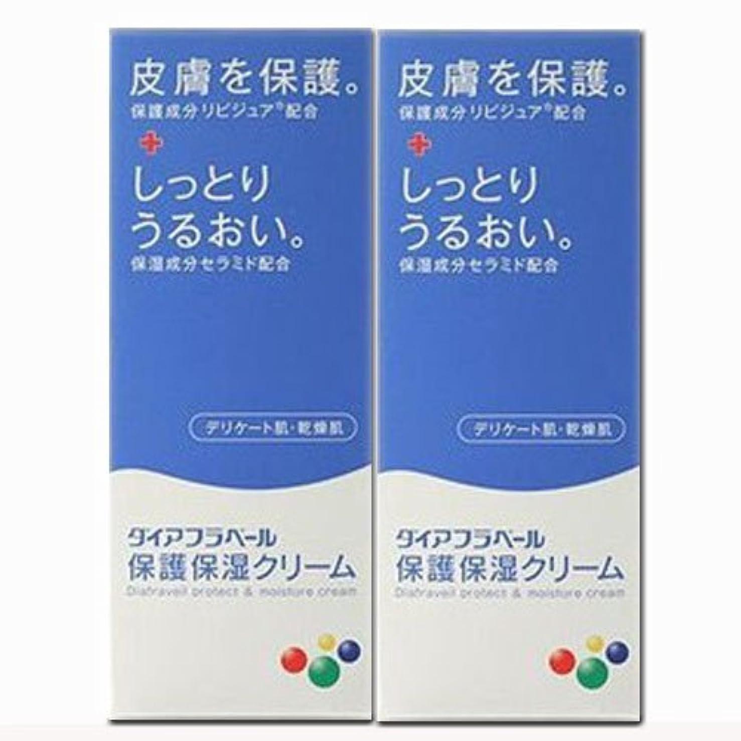 後世実装する縮れた【2個】ダイアフラベール 保護保湿クリーム 60gx2個 (4987360200539-2)