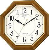 CITIZEN (シチズン) 掛け時計 ネムリーナルック 電波時計 4MY645-006