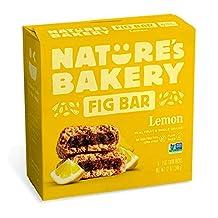 Nature's Bakery Organic Lemon Fig Bar, 56.7g (Pack of 6)