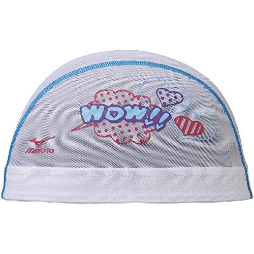 [해외]MIZUNO (미즈노) 수영 모자 수영 메쉬 N2JW750401 17 가을 겨울 모델 사이즈 : M 화이트/MIZUNO (Mizuno) swim cap swimming mesh N2JW 750401 17 Fall & Winter Model Size: M White