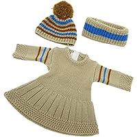 SONONIA  セーター ドレス  ネック スカーフ 帽子 セット 18インチアメリカンガールドール用