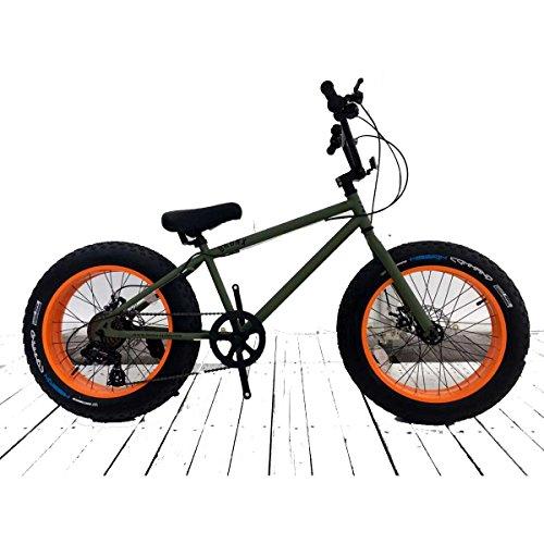 Bronx 変速付き ミニベロファットバイク 20インチ B076GLQ79K 1枚目