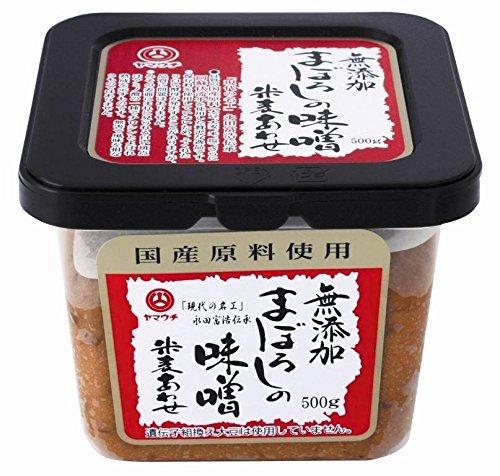 山内本店 無添加まぼろしの味噌 米麦合せ 500g