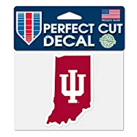WinCraft Indiana Hoosiers NCAA 10cm x 13cm Perfect Cut State Decal