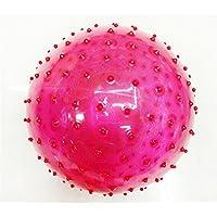 22CM跳ねるボールのおもちゃインフレータブルジャンプ跳ねるストレス透明なマッサージヘルスケアのおもちゃPVCボールクリスマスパーティー