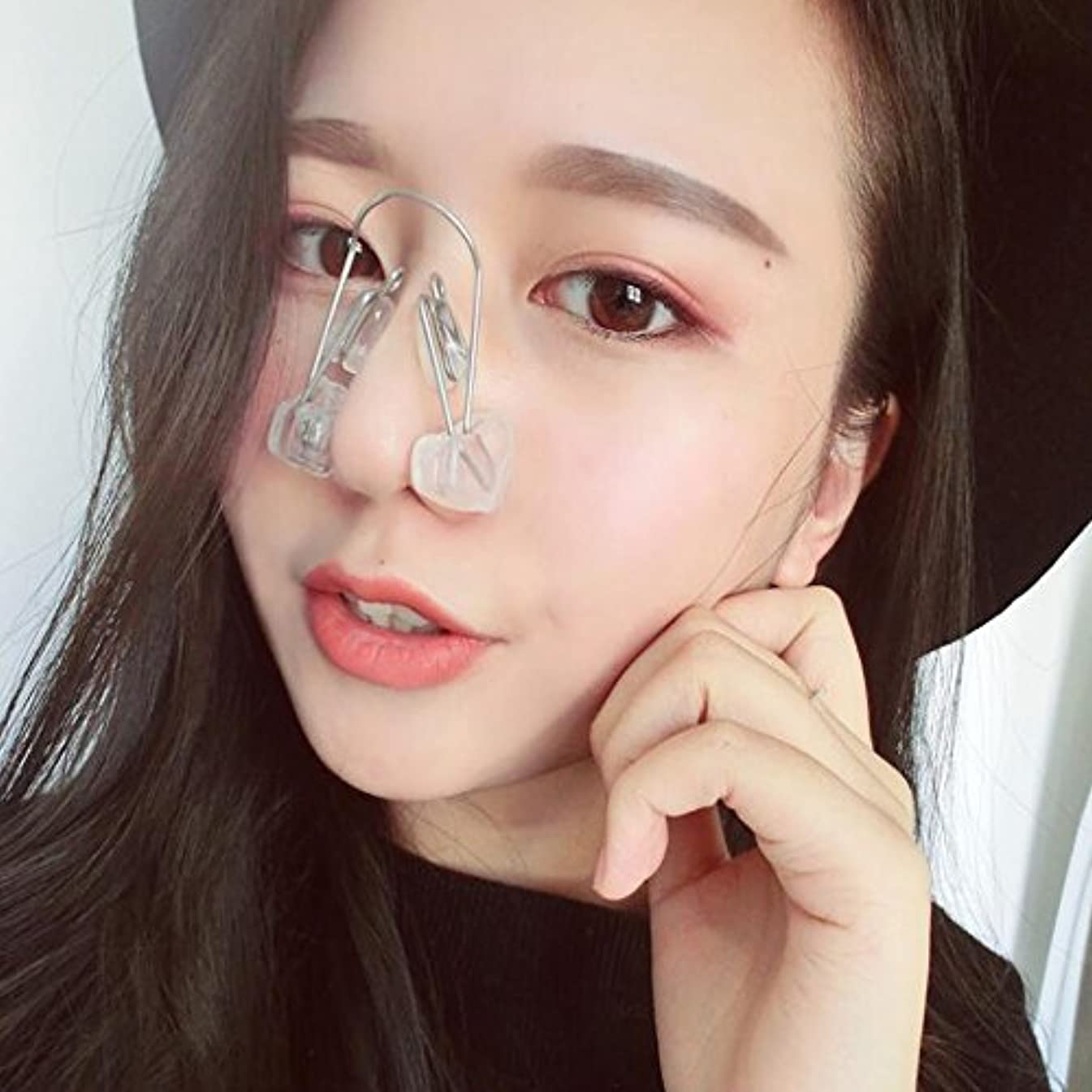グラム退院確かなないノーズアップピン 鼻筋セレブ ノーズアップピン ノーズアップピン ズレない ノーズアップピン 簡単 美鼻 整う 矯正