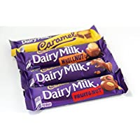 'Dairy Milk Chocolate Bars, popular selection shipped from UK'