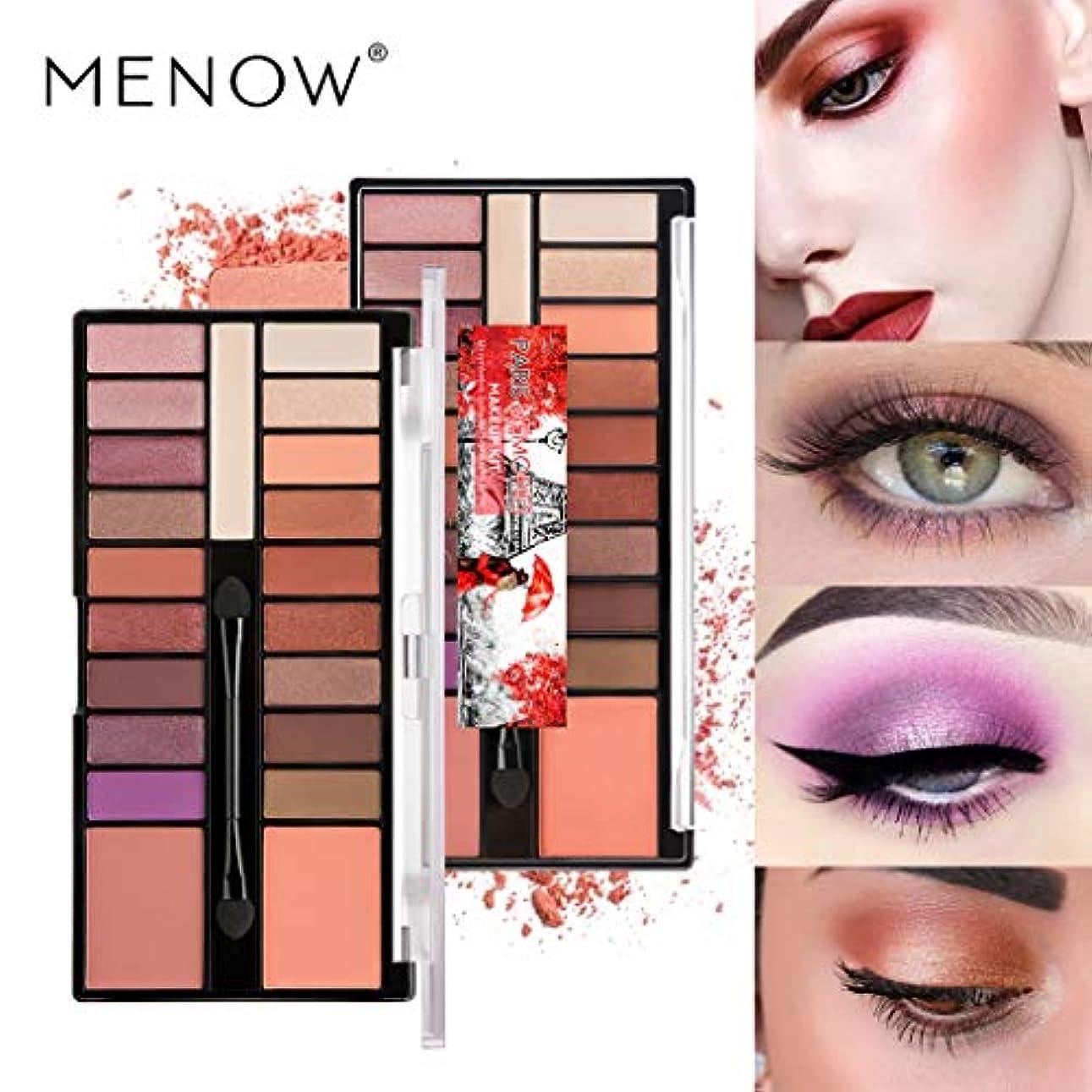 引退したギャングデコードするAkane アイシャドウパレット MENOW ファッション キラキラ プロ 魅力的 綺麗 人気 長持ち マット チャーム おしゃれ 持ち便利 Eye Shadow (18色) K907