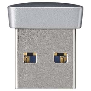 BUFFALO USB3.0対応 マイクロUSBメモリー 32GB シルバー RUF3-PS32G-SV