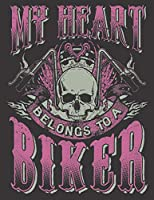 """2020 Motorcycle Calendar and Planner For Bikers: Motorcycle Babe Wife Mom My Heart Belongs To A Biker 