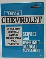 1975Corvette GMショップとサービスマニュアル
