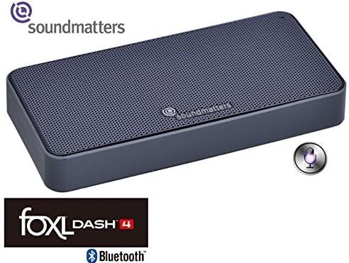 【国内正規品】Soundmatters Bluetoothモバイルスピーカー[siri対応] foxL DASH4【日米同時発売】 (デイビスグレイ)