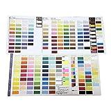エスケント 色画用紙 色見本帳 3冊 2320123