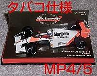タバコ仕様 1/43 マクラーレン ホンダ MP4/5 プロスト V10 1989 McLaren HONDA チャンピオン
