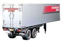 タミヤ 1/14 電動RCビッグトラックシリーズ No.02 トレーラートラック用 パネルバン セミトレーラー ラジコン 56302